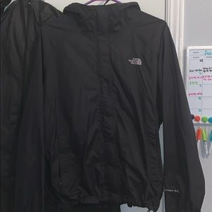 Women's XL North Face wind breaker